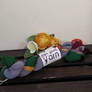 Reclaimed Chiffon Ribbon Yarn 077